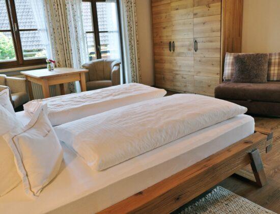 Doppelzimmer Nr. 6 mit Schlafcouch