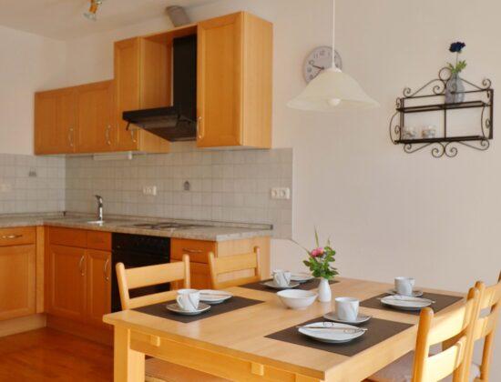 Ferienwohnung Hochgrat Küche