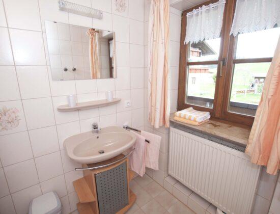Zimmer Nr. 7 Badezimmer