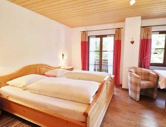 Zimmer Nr. 7 Bett