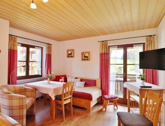 Zimmer Nr. 7 Wohnraum